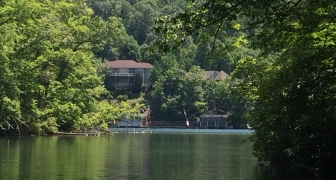 Lake Lure LAKE FRONTAGE – Blue Heron Point – 1.24