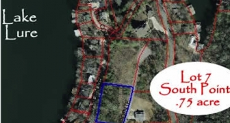 Appx. – .75 Lot 7-South Pointe Drive - AMAZING LAKE VIEWS!